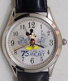 Mickey Mouse Watch Avon 75 Years With Mickey Walt Disney Wristwatch