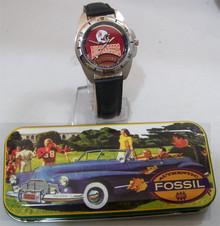 Tampa Bay Bucs Fossil Watch Vintage 1995 Mens Buccaneers Collectors