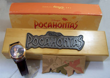 Disney Pocahontas Watch Limited Edition in Wood Display Case