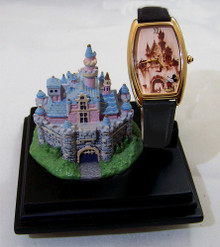 Disneyland Castle Watch Disney Everlasting Time Collection Wristwatch