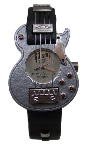 Gibson Guitar Watch Gibson Les Paul Custom Grey Novelty
