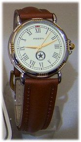 Texas Rangers Hall of Fame Museum Watch Fossil Collectors Wristwatch