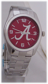 Alabama Crimson Tide Watch Game Time Mens Elite Wristwatch, New