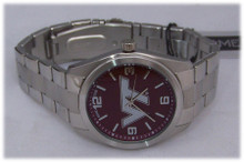 Virginia Tech Hokies Watch Game Time Mens Elite Wristwatch, New