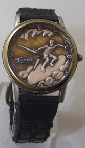Fossil Surfer Watch Vintage Classics Collectible Surfing Wristwatch