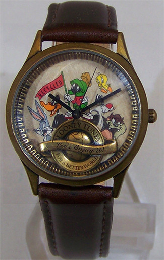 Looney Tunes Characters Watch Bugs Bunny Better World