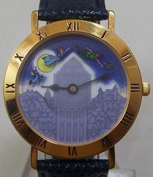 Peter Pan Pedre Watch Walt Disney Rotating Characters Wristwatch