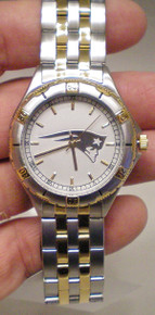 New England Patriots Watch GameTime 23K Gold Logo General Managers