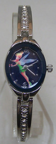 Tinker Bell Watch Walt Disney Peter Pan Womens Rhinestone Wristwatch