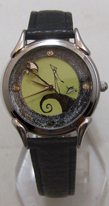 Nightmare Before Christmas Watch Jack Skellington On Cliff With Zero