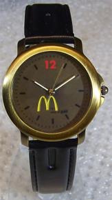 Fossil McDonalds Watch Mens McDonalds Value of Gold Wristwatch