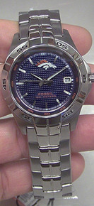 Denver Broncos Fossil Watch MensThree Hand Date Wristwatch NFL1051