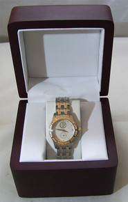 Pittsburgh Steelers Womens Watch Lady Legend Gold Logo with Diamonds