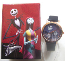 Nightmare Before Christmas Watch Jack and Sally Forever Accutime