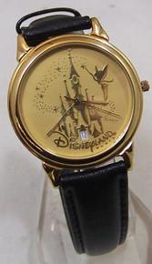 Disneyland Paris Watch Cinderella's Castle Pedre Gold Tone Lmt Ed