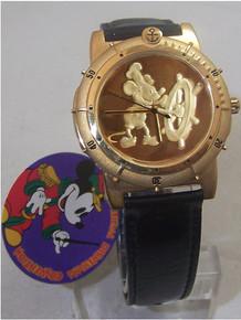 Walt Disney Watch 1993 Disney Convention Steamboat Willie Wristwatch