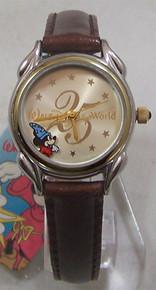 Mickey Mouse Sorcerer Watch Disney World 25th Limt Ed 3000 Wristwatch