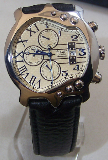 Stauer Guitar Watch Mens Automatic Movement Stainless