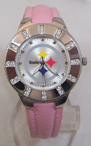 Pittsburgh Steelers Womens Watch Avon Release 2008 Wristwatch Ladies