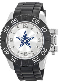 Dallas Cowboys Watch Game Time Beast Mens Black Wristwatch NFL-BEA-DAL