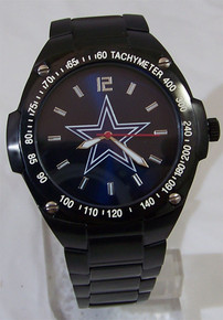Dallas Cowboys Watch Mens Game Time Blue Sunray Gladiator Wristwatch