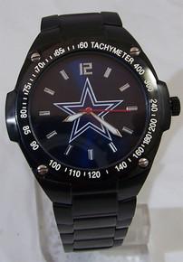 Dallas Cowboys Watch Mens Game Time Blue Sunray Gladiator Wristwatch