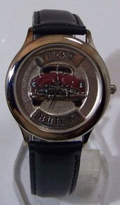 49 Buick Fossil Car Watch Relic 1949 Buick Auto Wristwatch ZR-94702
