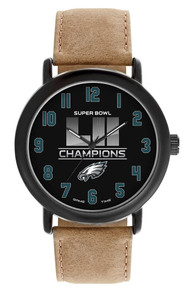 Philadelphia Eagles Super Bowl LII Watch GameTime Mens Superbowl 52 T