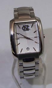 UNC North Carolina Tarheels Watch Fossil Mens Dress Wristwatch w Date