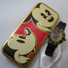 Mickey Mouse Fossil Watch Vintage black and white Womens Copper Stone