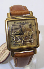Fossil Piano Watch Vintage Baby Grand Musicians Novelty wristwatch New