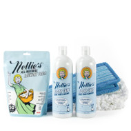 Nellie's Floor Care Bundle has everything you need to get your floors looking clean! With two bottles of our Floor Care (scented with our signature lemongrass fragrance)