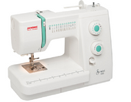 The Sewist 500 makes it easy to sew - and the great price makes it easy to afford! This versatile machine offers 25 stretch and utility stitches, an automatic 1-step buttonhole, and convertible free arm. Practical features like accessory storage and a top loading bobbin with see-thru window will make creating with the Sewist 500 practically effortless.