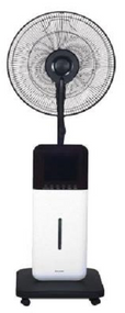The CoolZone Ultrasonic Misting Fan is designed to keep you cool and comfortable during the hot season with many beneficial features. Dry Environments can lead to dehydration and accelerated aging, but the CoolZone misting function uses ultrasonic high frequency oscillation principles to atomize the water into 1-5 micron ultra fine particles, then diffuses water into the air, leaving you cool and refreshed, but not feeling wet.