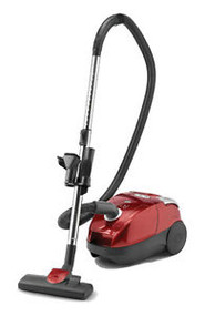 Deluxe canister vacuum suitable for cleaning bare floors, rugs, upholstery, walls and woodwork or detail vehicles. Easy to use.