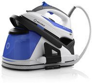 The new Senza 200DS iron station is the first two-in-one solution for busy households. For light duty use, the Senza's iron detaches from the station allowing it to be used independently. For larger ironing tasks, hooked up to the iron station it provides unlimited ironing capacity with its auto refill system.