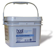 HOST Fragrance Free - 412HFF  54 lbs: HOST Dry Carpet Cleaner, Fragrance Free  Case of 4 – 12 lb. buckets: $152.88 + Freight  All the benefits of the unique HOST Dry Carpet Cleaner technology without any added fragrance.