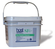 HOST SJ For Special Jobs - 412SJ  57 lbs: HOST Dry Carpet Cleaner SJ, For Special Jobs  Case of 4 – 12 lb. buckets: $210.50 + Freight  Formulated for special jobs such as asphalt parking lot track-off or for use on solution dyed nylon, polypropylene, white or off-white wool, Berber and light-colored carpets.