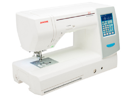 Janome 8200 QC offers more of everything you're looking for. This machine was built with Quilting genes but makes for a great all-round sewing machine!  With hundreds of stitches and AcuFeed layered fabric sewing system, it has everything you need to complete a sewing project without hassle.