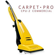 Carpet Pro CPU-2 Commercial Vacuum Carpet Pro H.D. Commercial No Tools Metal Handle, Metal Bottom Plate, 40 ft cord, Metal Brushroll, 1 yr warranty.