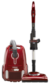 "VFB-HMP Fuller Brush Canister Powerteam @ $299 ​The Home Maid Power Team Canister Vacuum features a power nozzle that removes dirt deep in plush carpet. It also comes with a combination floor tool with natural bristles for cleaning bare floors, as well as rubber wheels, variable suction control, a telescopic wand, on-board tools, and a HEPA media filter. Nothing says ""Home Sweet Home"" like clean carpets and floors. If you have a mix of carpeted and bare floors, the Fuller Brush Home Maid Power Team Canister is perfect for cleaning your home. The lightweight power nozzle lifts deep-down dirt from your carpet, and the combination floor tool with soft natural bristles is gentle on wood floors."