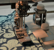 This seam guide is used to sew perfectly placed seams with accurate spacing between the lines
