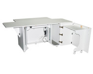 WHITE 80 6360EL Space Saver PRO Cabinet Deluxe New for 2017 Space Saver Design
