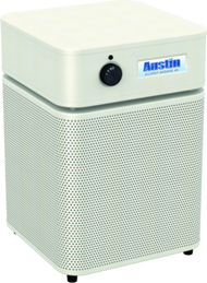 Allergy Machine Jr.  - SANDSTONE Maximum protection for people with asthma and allergies. The Austin Air Allergy Machine™ has been developed specifically to offer maximum protection for those suffering from asthma and allergies. It effectively removes allergens, asthma irritants, sub-micron particles, chemicals and noxious gases, providing immediate relief for asthmatics and allergy sufferers.