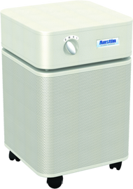 HeathMate Standard - SANDSTONE For your everyday air quality concerns. The Austin Air HealthMate™ series removes a wide range of airborne particles, chemicals, gases and odors and will significantly improve the quality of air in your home.