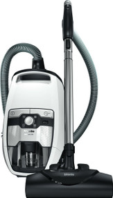 Miele Blizzard CX1 Cat & Dog Bagless Canister Vacuum, Lotus White Seb228 electro+ power brush Sbb parquet floor twister Crevice tool, dusting brush, and upholstery tool Bagless canister Low to medium pile carpet and hard floors