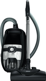 Miele Blizzard CX1 Electro and Bagless Canister Vacuum, Obsidian Black Seb228 electro+ power brush Sbb parquet floor twister Crevice tool, dusting brush, and upholstery tool Bagless canister Low to high pile carpet and hard floors