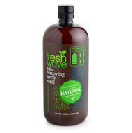 32 oz. odor removing spray refill SKU: 058 Who doesn't love a good deal? If you're a fan of our spray, it's time to celebrate and SAVE! Our 32 oz refill size is back! Whether you like to stock up or you prefer to reuse bottles to reduce waste, we've got you covered. The new easy-pour spout makes refilling any bottle a breeze.