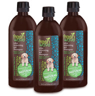 3 pack of 16 fl. oz. odor removing dog shampoo SKU: 027-3 Buy the 3 pack 16 oz./1 pint odor removing dog shampoo and save!