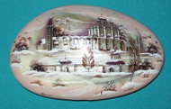 STUNNING Hand Painted Russian Mother of Pearl Box - CHURCH OF CHRIST THE SAVIOR #4515